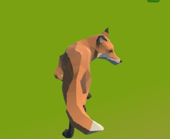 3 boyutlu tilki simülatörü