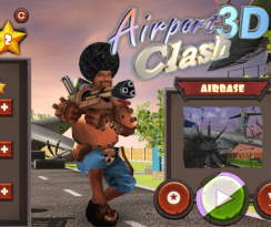 airport clash 3d oyna