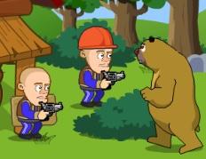 ayıların saldırısı iki kişilik