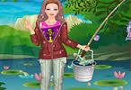 balıkçı barbie giydirme
