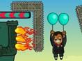 balonlarla yukarı çıkma