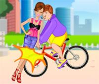 barbie bisiklet kazası