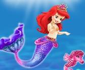 barbie deniz kızı süsle