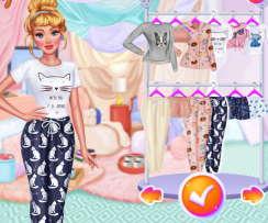 Barbie Pijama Partisi Oyunu