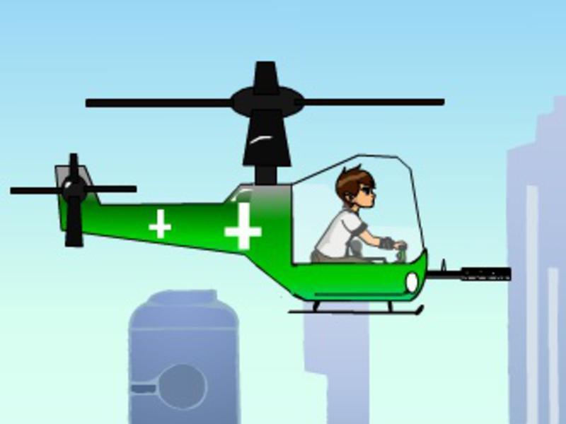 ben 10 helikopter oyunu