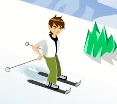 ben 10 kayak yarışı