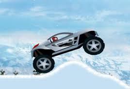 buz arabası sürme