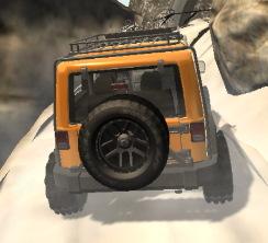 dağda 4x4 jeep sürme