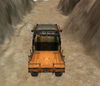 dağda kamyon sürme