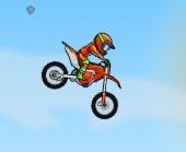 havada uçan motorcu