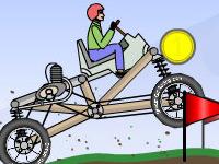 hayali araba yarışı