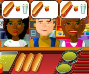 hot dog dükkanı oyunu