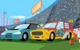 iki kişilik araba yarışı