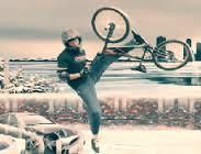 karda bisiklet sürme