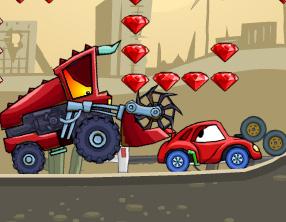 kırmızı arabayla kaçış