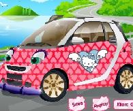 kız arabası süsleme