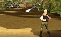 komando kız ormanda savaş
