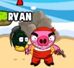 korsan domuzları bombala