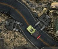 makineli silahlarla savunma