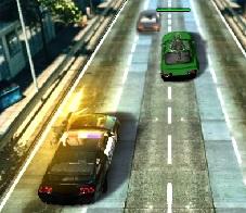 öfkeli polis arabası