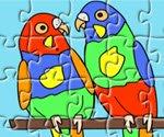 papağan yapbozu