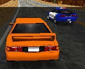polis arabasıyla yarış 3d