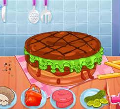 puanlı hamburger yapma oyunu