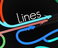 renkli çizgilerin yarışı
