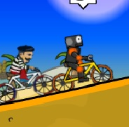 robot bisiklet yarışı