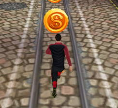 ronaldo koşu oyunu