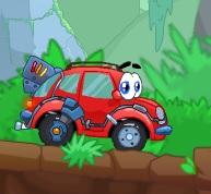 sevimli kaplumbağa araba
