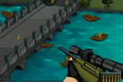 sniper ile adam vurma