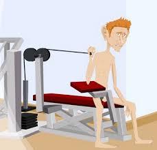 spor salonunda vücut geliştirme