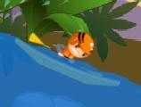 suda rafting oyunu