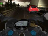 trafikte motor sürme oyunu