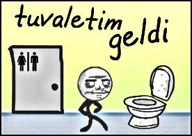 tuvalete yetiş oyunu
