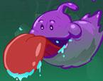 yapışkan mor yaratık