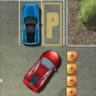 yarış arabası park etme