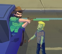 zombileri silahla vurma
